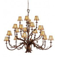 Ponderosa 20 Light Chandelier