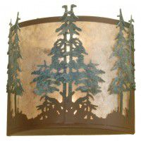 Strunk Tall Pines Wall Sconce