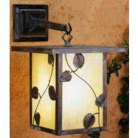Vine Leaf Lantern Wall Sconce