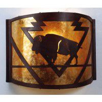 Buffalo Arrowhead Sconce