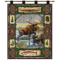 Moose Lodge Wall Hanging