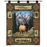 Elk Lodge Wall Hanging