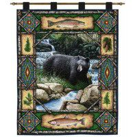Bear Lodge Wall Hanging