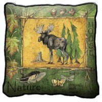 Nature Moose Pillow