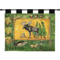 Nature Moose Wall Hanging