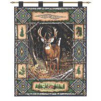 Deer Lodge Wall Hanging