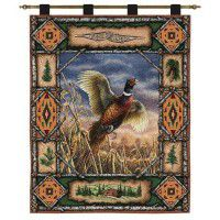 Pheasant Lodge Wall Hanging