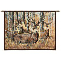 Sudden Encounter Deer Wall Hanging