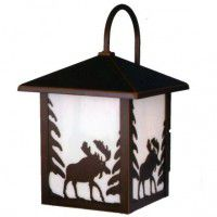 Yellowstone Moose Outdoor Lantern