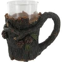 Rustic Pinecone Mug