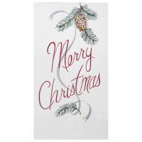 Merry Christmas Kitchen Towel 100% Cotton