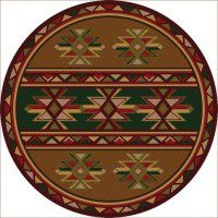 Dakota Star Round Rug