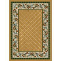 Evergreen in Maize Area Rugs