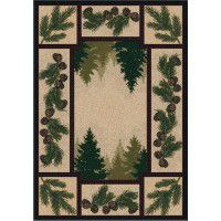 Pine Forest  Area Rugs
