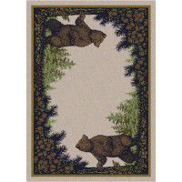 Bear Twins Area Rug Collection