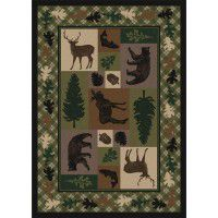 Wildlife Retreat  Area Rugs