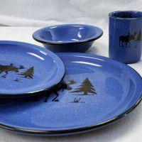 Moose Silhouette Dinnerware