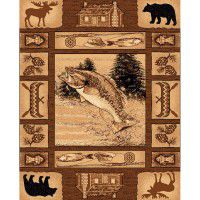 Fish Lodge Area Rug