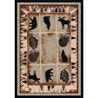 Northern Wildlife Area Rug