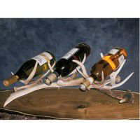 Antler Wine Rack-3 Bottle