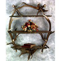 Elk and Moose Wall Shelf