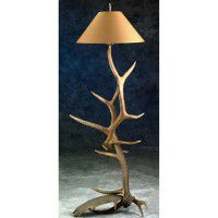 Moose & Elk Antler Floor Lamp