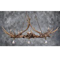 Straight Arrow Antler Game Table Light