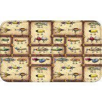 Antique Lure Memory Foam Bath Mat