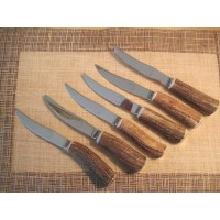 Antler Steak Knife 6-Set