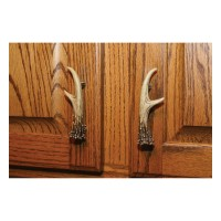 Faux Antler Pulls -3in