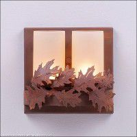 Wisley Sconce-Oak-2 Sizes Available