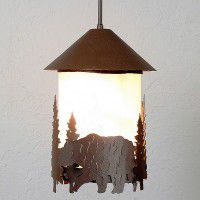 Vista Bear Pendant Light