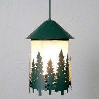 Vista Pine Tree Pendant Light