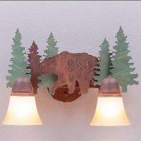 Lakeside Vanity Lights - Bear - 3 Sizes Available