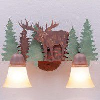 Lakeside Vanity Lights - Moose - 3 Sizes Available