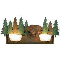 Halogen Bear Vanity Lights