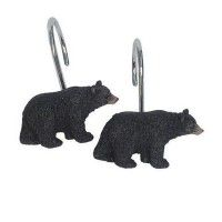 Black Bear Lodge Shower Hooks