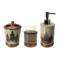 Forest Bathroom Set of 3