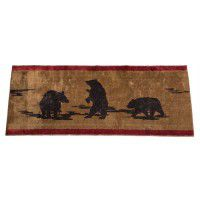 "Bear Lifestyle Bath Rug 24""x 60"""