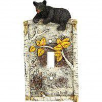 Bears on the Birch Tree Switch Plates