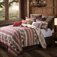 Bear Trail 3-Piece Quilt Set