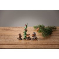 Bearfoots Forest Nativity Gift Bearers Figurine