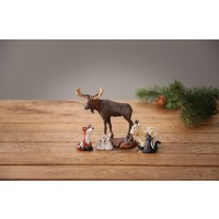 Bearfoots Forest Nativity Friends Holiday Figurine
