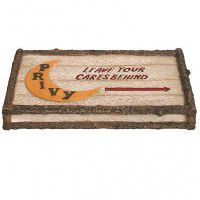 Lodge Out House Soap Dish-DISCONTINUED