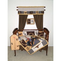 Western Crib Set 6 Pieces