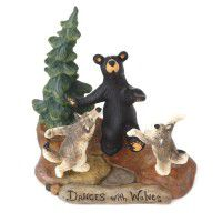 Dances with Wolves Figurine