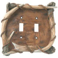 Antler & Bark Light Covers-CLEARANCE