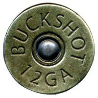 Antique Brass Shotgun Shell Knob