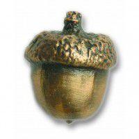 Antique Brass Small Acorn Knob