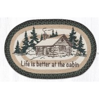 Life is Better at the Cabin Jute Rug 20 x 30